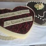 Hochzeitstorte Doppeltes Herz