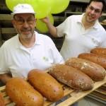 Zwei von vier Generationen : Johann und Bernd Rieger