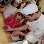 Kinderbacken  Martin Kugelmann ( Bäcker 3. Lehrjahr)